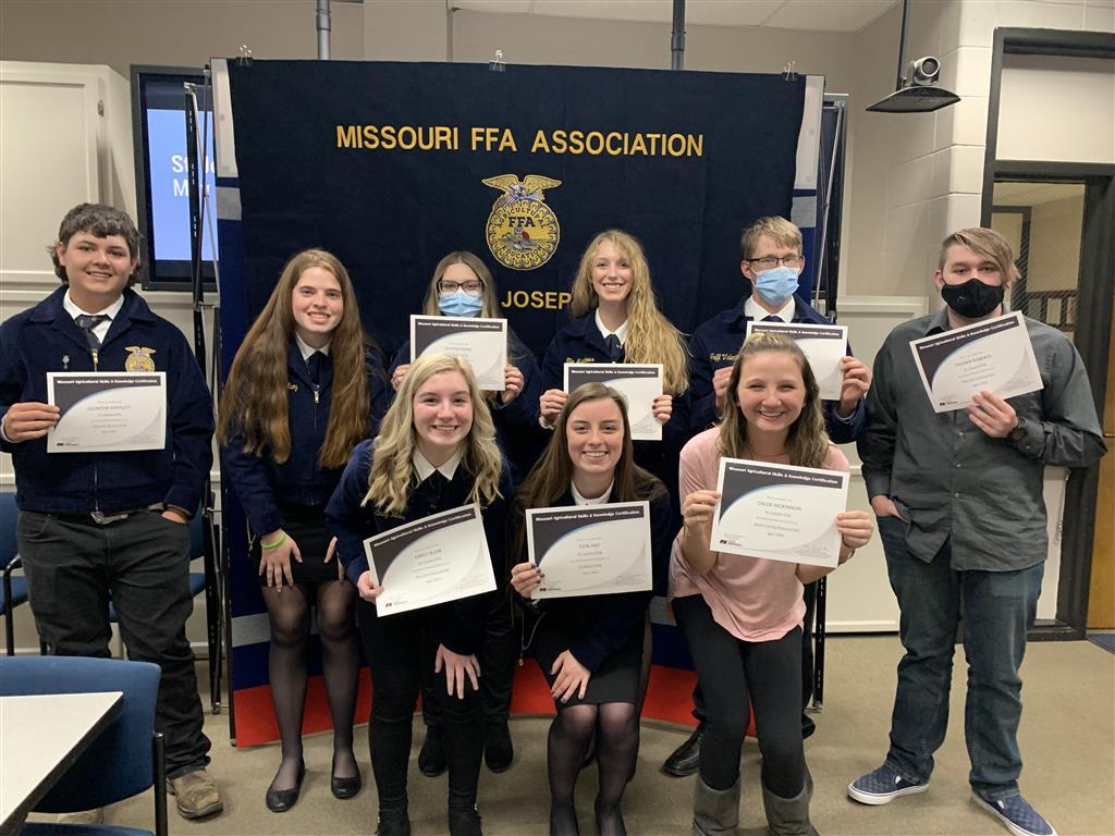 Missouri Agriculture Skills