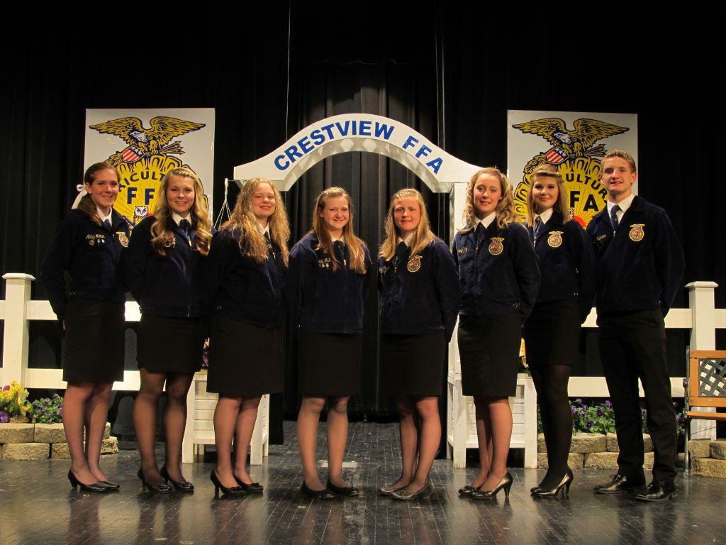 2014-2015 Crestview FFA Officers.JPG