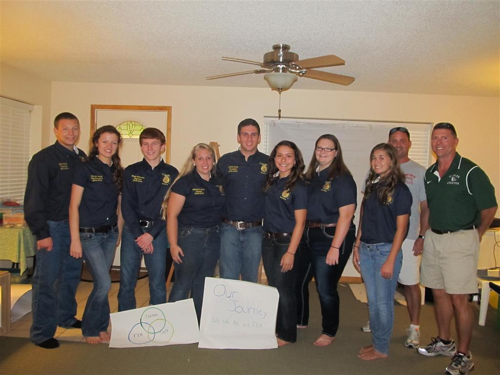 Explaining the role of our Ag. program, Vet classes, and SAE