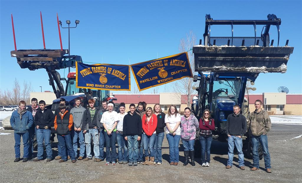 Wind River Chapter members