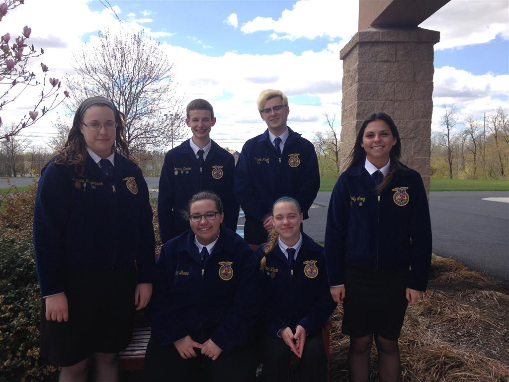 After the officers learned basic parliamentary procedure to use during their monthly meetings, they decided to promote the Parliamentary Procedure CDE.  For the first time in 27 years, Tyrone Area FFA Chapter had a Parliamentary Procedure team who practiced two times a week and competed at South Central Region Competition in April.  They also presented their skills during the May School Board Meeting.  These students come from all walks of life and have very different interests, but found that parliamentary procedure is used in their lives through the government to protect the rights of the minority, while keeping orderly meetings.
