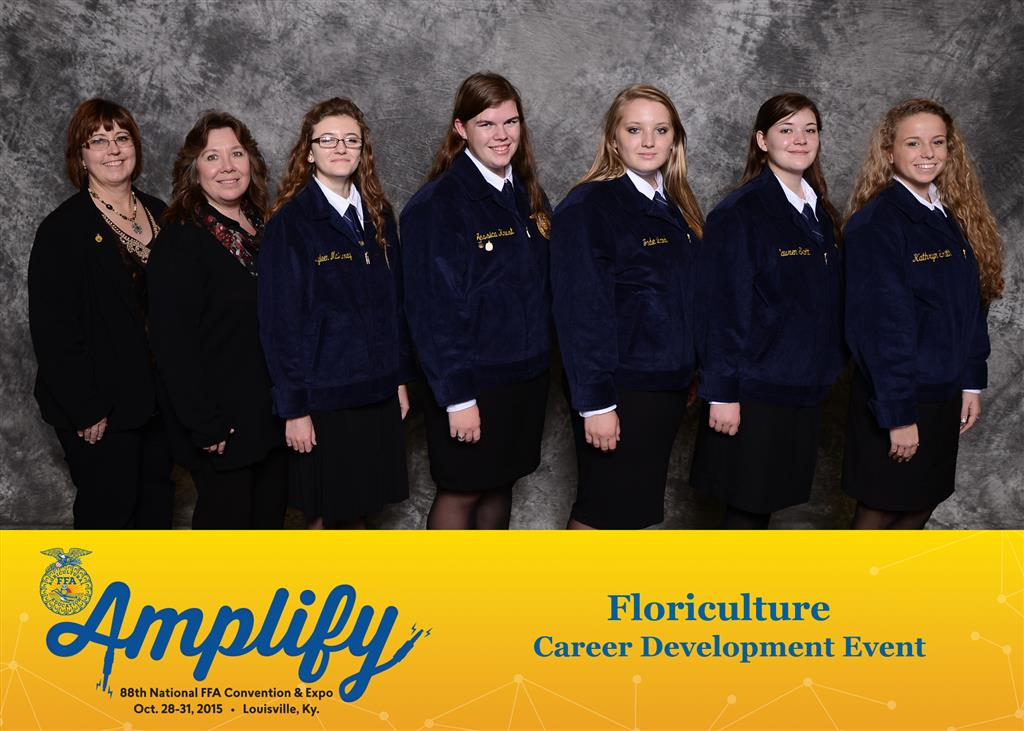 National Floriculture Gold Award