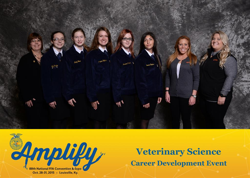2015 National Vet Science Team - Silver Award