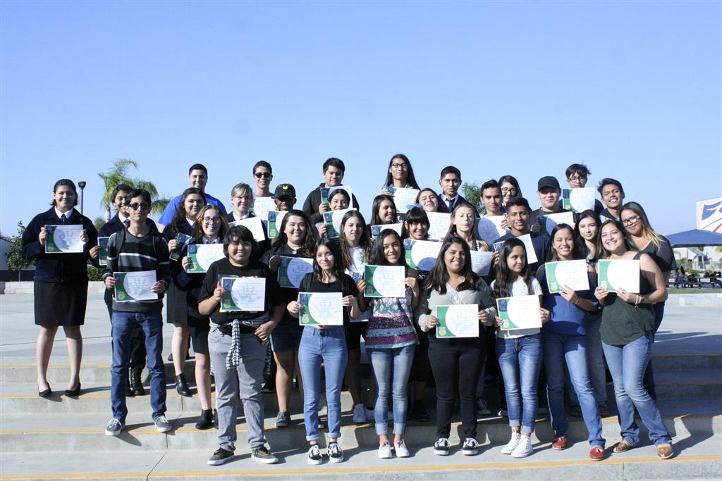 41 of our new greenhand degree earners