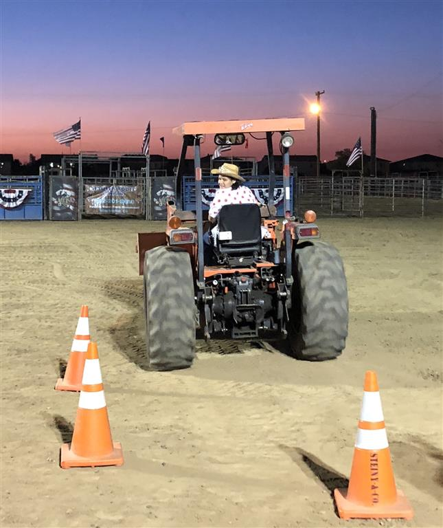 Tractor driving contest