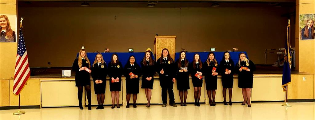 2019 Chapter Awards are awards that recognize the unique characteristics that make up Madras FFA.  These characteristics represent the range of skills, personalities, and flair that our members possess. The contributions of each member makes our chapter dynamic, versatile, and strong.