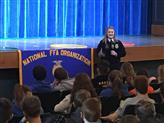 National Officer - All School Assembly