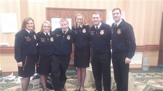 Rise Above Conference with National Officers, Mackay FFA, Idaho