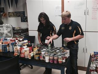 Food Pantry Community Service, Lewis Cass FFA Chapter, IN
